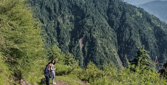 hiking in kashmir