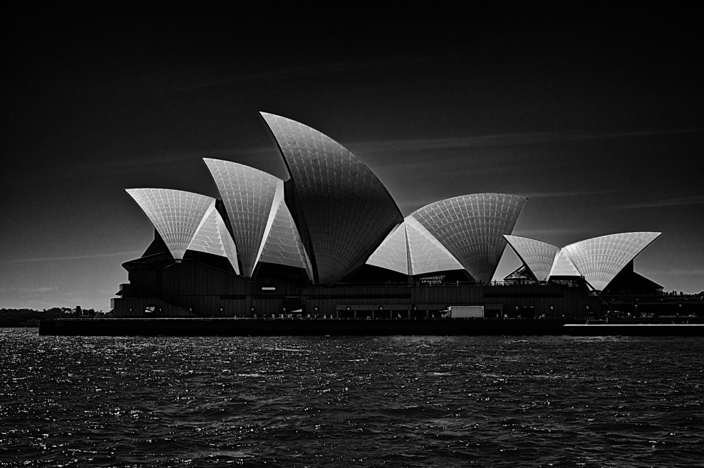 Sydney Opera House Full View