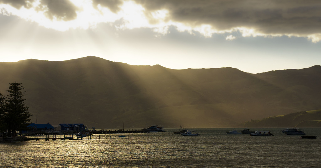 Sunset at Akaroa