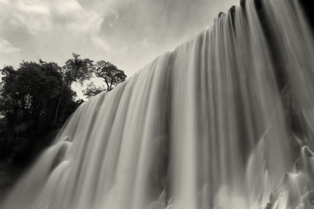 Big Waterfall Iguazu