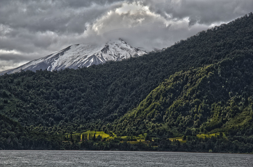 The mountains of Bariloche