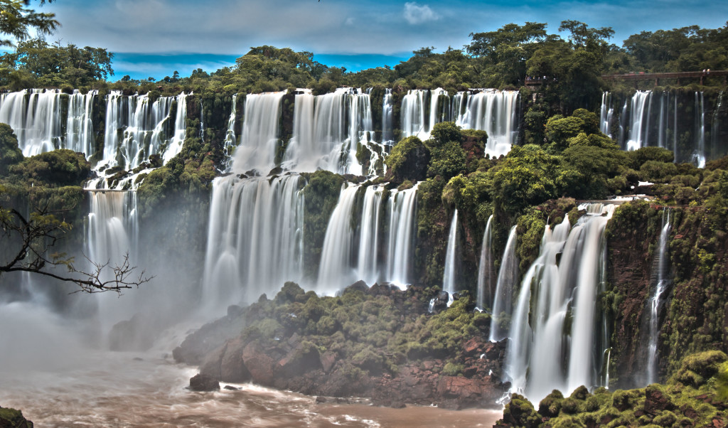 Iguazu Waterfall Panorama