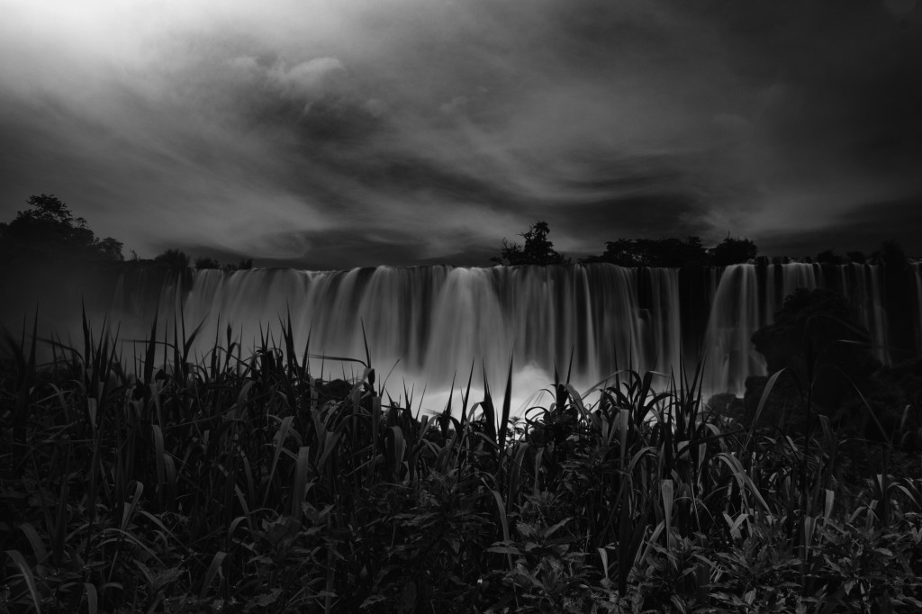 Ominous waterfall
